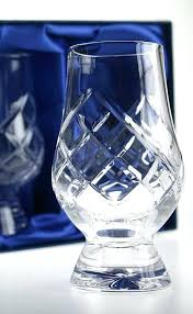 glencairn crystal whiskey glass the official cut whisky set of 2 glasses