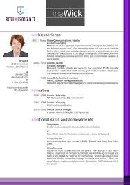 Newest Resume Format Resume Sample