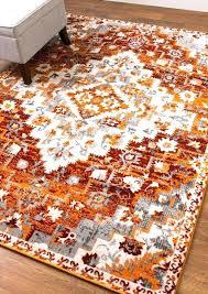 gray and orange rug southwestern rug diamond rug modern rug gray orange rug living room rug gray and orange rug