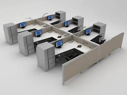 Modern Cubicle Office Cubicles Designs Photos Interior Of A Modern Office