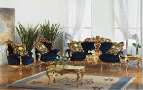 Victorian Gold Eolo living room setTop and Best Italian Classic