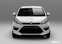 new car release in malaysia 2014Proton P230A small car shows its taillight in new spyshot