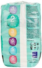 Bambo Nature Baby Diapers Classic Size 2 180 Count 6