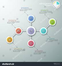 Modern Flow Chart Design Modern Flowchart Mindmap Infographics Template Paper Stock