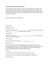 Sample Agreement To Pay Debt 43 Free Settlement Agreement Templates Divorce Debt