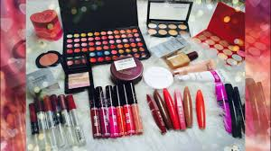 huge makeup haul ads lakme kiss beauty colorbar much more
