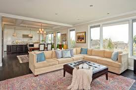contemporary design open floor plan kitchen living room dining room astounding open living room