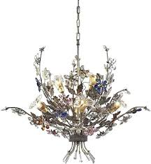 colored crystal chandelier engaging multi colored chandelier 5 colored crystal chandelier prisms