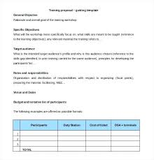 training plan template word training plan template example free schedule employee willconway co