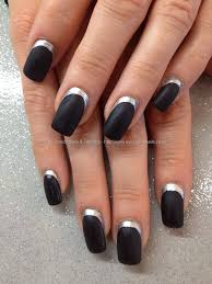 43 Fabulous Black Acrylic Nails Art Designs & Style | Picsmine