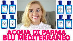 <b>ACQUA DI PARMA BLU</b> MEDITERRANEO PERFUME RANGE ...