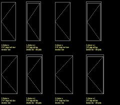 bifold doors cad block