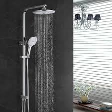 Duschpaneel Handbrause Regendusche Duscharmatur Duschset Bad Duschstange Messing Ebay