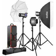 Godox Light Godox Qt400ii 3 Light Studio Flash Kit
