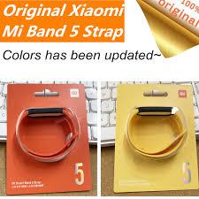 <b>Original</b> Xiaomi Mi <b>Band 5</b> strap Wristband Bracelet Silicone Xiomi ...