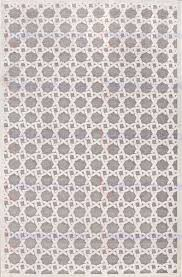 jaipur fables trella machine made rous finish art silk chenille ivory gray area rug