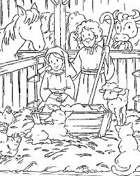 A simple coloring page of baby jesus and his earthly parents that even a preschooler could color. Baby Jesus Nativity Picture Coloring Page Free Amp Printable Nativity Coloring Pages Jesus Coloring Pages Christian Coloring