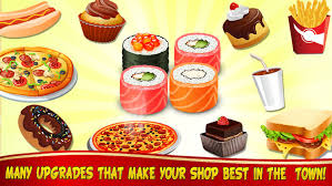 fast food maker my sushi cafe food maker cooking games for kids by max joy