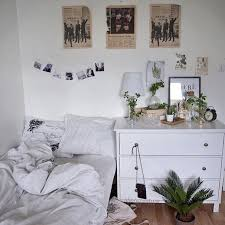 tumblr bedrooms white. Image De Room, White, And Plants Tumblr Bedrooms White