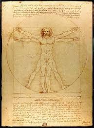 Код да Винчи Википедия  Витрувианский человек Леонардо да Винчи В романе тело Жака Соньера убитого куратора Лувра находят на полу музея в точно такой же позе