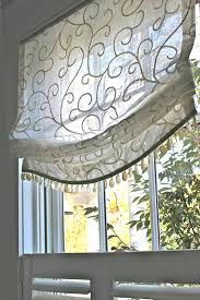 sheer roman shade fabric schumacher adina embroidery in cream sheer roman shades d44