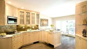 natural maple kitchen cabinets granite gorgeous with c