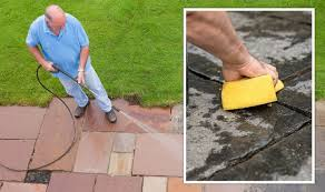 washing patio without pressure washer