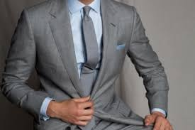 grey suit combinations - Google Search  Light Blue ...