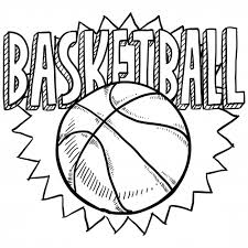 Small Picture Sports Coloring Pages Basketball 2 Drawings Printing and