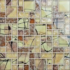 mosaic tile crystal glass backsplash kitchen countertop ice bathroom wall floor tiles ag123