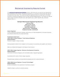 Mechanical Engineer Resume Sample Mechanical Design Engineer Sample