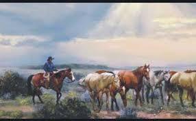 cowboy wallpaper borders