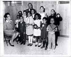 1966 Press Photo Mildred Johnson, Doris Anderson, Oneida Cockrell    Historic Images