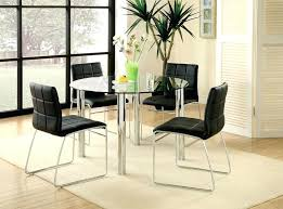 small glass dining room sets. Furniture Gorgeous Round Glass Dining Table Design Ideas Small Room Sets O