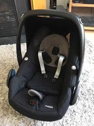 car seat maxi cosi pebble in excellent condition with all parts and instructions