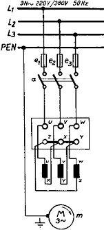 circuits formulas and tables electrical engineering basic three phase motor star delta connection delta connection