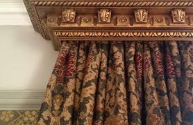 how to create a gilded decorative curtain pelmet