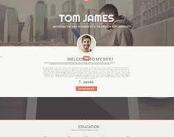 ... Best WordPress Resume Theme - Web Designer Help Getting Job - top  resume sites ...
