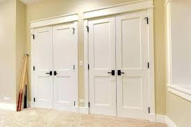 double closet doors ideas
