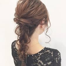 合わせるドレス別に紹介自分でできる結婚式お呼ばれヘアアレンジ