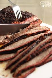 how to smoke a brisket in an electric