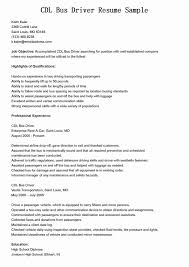 Truck Driver Skills For Resume Best Truck Driver Resume Example