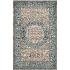 sofia light gray blue 3 ft x 4 ft area rug