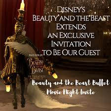 Disney Evites Disneys Beauty And The Beast Extends An Exclusive