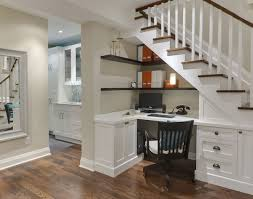 office storage ideas small spaces. Furniture, Utilize Small Spaces Under Staircase For Home Office With Wall Mounted File Shelves And Storage Ideas