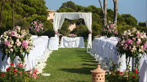 great wedding in the garden weddings in majorca at the st regis mardavall mallorca resort