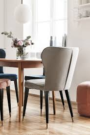 Samt Polsterstuhl Cleo Home Decor Dining Chairs Chair Home Decor