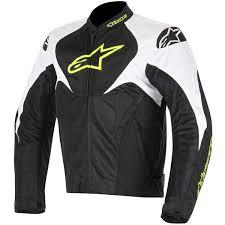alpinestars t jaws air textile jacket black white yellow fluo thumb 0