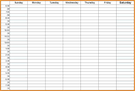 Weekly Calendar With Times Template Hourly Weekly Planner Template Metabots Co