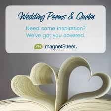 Wedding Poems & Quotes | MagnetStreet Weddings